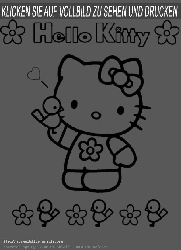 ausmalbilder hello kitty