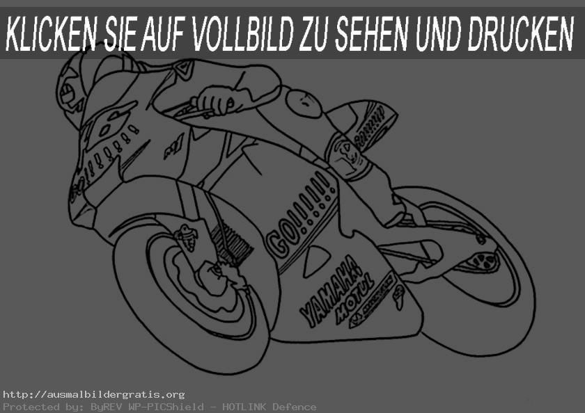 motorrad racing zum ausmalen