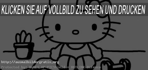 ausmalbilder gratis hello kitty-28